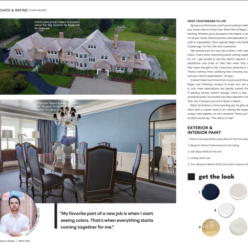 Featured in March's Edition of the Luxurious Magazine, Westport Lifestyle!